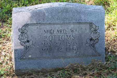 BOTTOMS, VERNON MILLARD WILLIAM - Lawrence County, Arkansas   VERNON MILLARD WILLIAM BOTTOMS - Arkansas Gravestone Photos