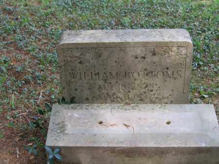 BOTTOMS, WILLIAM - Lawrence County, Arkansas | WILLIAM BOTTOMS - Arkansas Gravestone Photos