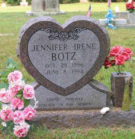 BOTZ, JENNIFER IRENE - Lawrence County, Arkansas | JENNIFER IRENE BOTZ - Arkansas Gravestone Photos