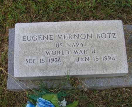 BOTZ (VETERAN WWII), EUGENE VERNON - Lawrence County, Arkansas | EUGENE VERNON BOTZ (VETERAN WWII) - Arkansas Gravestone Photos