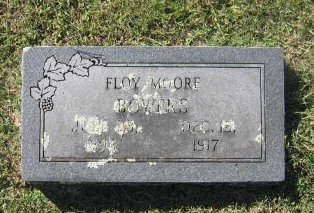 MOORE BOWERS, FLOY A. - Lawrence County, Arkansas | FLOY A. MOORE BOWERS - Arkansas Gravestone Photos