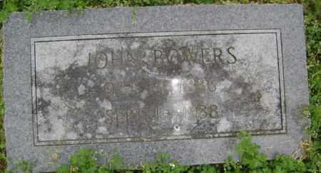 BOWERS, JOHN - Lawrence County, Arkansas | JOHN BOWERS - Arkansas Gravestone Photos
