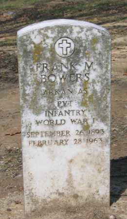 BOWERS (VETERAN WWI), FRANK M. - Lawrence County, Arkansas | FRANK M. BOWERS (VETERAN WWI) - Arkansas Gravestone Photos