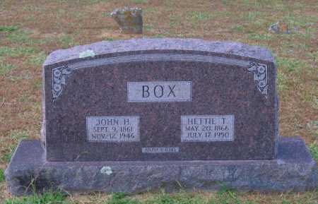 BOX, JOHN H. - Lawrence County, Arkansas | JOHN H. BOX - Arkansas Gravestone Photos