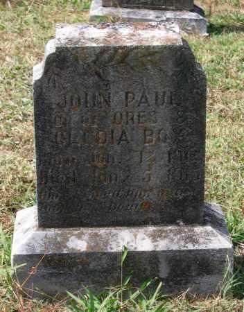 BOX, JOHN PAUL - Lawrence County, Arkansas | JOHN PAUL BOX - Arkansas Gravestone Photos