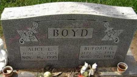 BOYD, BUFORD GERALD - Lawrence County, Arkansas | BUFORD GERALD BOYD - Arkansas Gravestone Photos