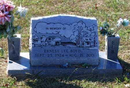 BOYD, ERNEST LEE - Lawrence County, Arkansas | ERNEST LEE BOYD - Arkansas Gravestone Photos