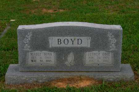 BOYD, MABLE NINA - Lawrence County, Arkansas | MABLE NINA BOYD - Arkansas Gravestone Photos