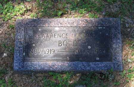BOYD, LAWRENCE LAVERNE - Lawrence County, Arkansas   LAWRENCE LAVERNE BOYD - Arkansas Gravestone Photos