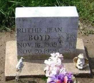 BOYD, RUTHIE JEAN - Lawrence County, Arkansas | RUTHIE JEAN BOYD - Arkansas Gravestone Photos