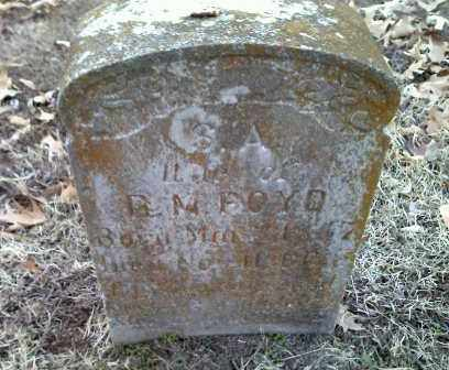 BOYD, S. A. - Lawrence County, Arkansas | S. A. BOYD - Arkansas Gravestone Photos