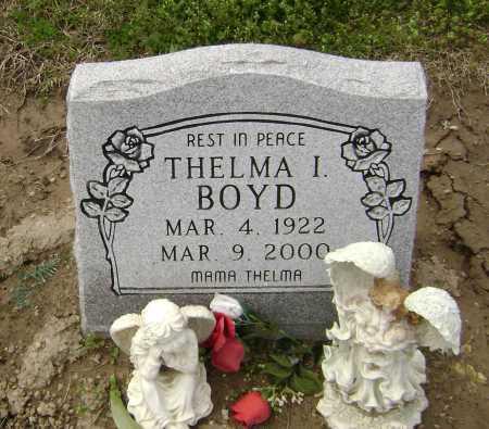 BOYD, THELMA I - Lawrence County, Arkansas | THELMA I BOYD - Arkansas Gravestone Photos