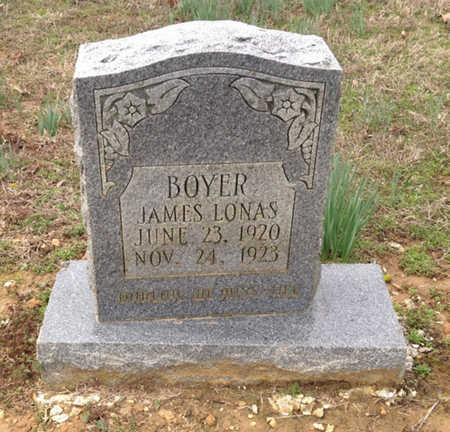 BOYER, JAMES LONAS - Lawrence County, Arkansas | JAMES LONAS BOYER - Arkansas Gravestone Photos