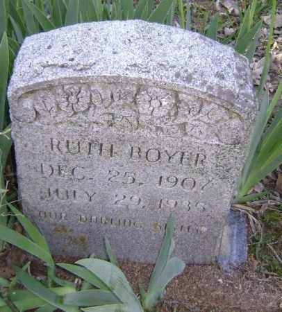 BOYER, RUTH - Lawrence County, Arkansas   RUTH BOYER - Arkansas Gravestone Photos