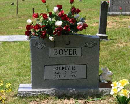 BOYER, RICKEY MARSHALL - Lawrence County, Arkansas | RICKEY MARSHALL BOYER - Arkansas Gravestone Photos