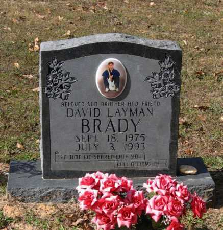 BRADY, DAVID LAYMAN - Lawrence County, Arkansas | DAVID LAYMAN BRADY - Arkansas Gravestone Photos