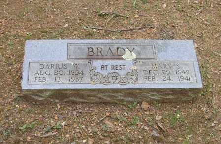 BRADY, DARIUS W. - Lawrence County, Arkansas | DARIUS W. BRADY - Arkansas Gravestone Photos