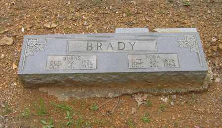BRADY, DAVID BURNS - Lawrence County, Arkansas | DAVID BURNS BRADY - Arkansas Gravestone Photos