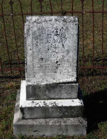 "BRADY, LEAH LAVINIA ""LEE"" - Lawrence County, Arkansas   LEAH LAVINIA ""LEE"" BRADY - Arkansas Gravestone Photos"