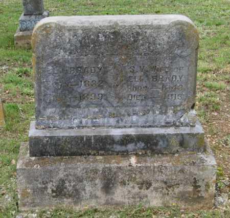 DENT BRADY, SARAH VIRGINIA - Lawrence County, Arkansas | SARAH VIRGINIA DENT BRADY - Arkansas Gravestone Photos