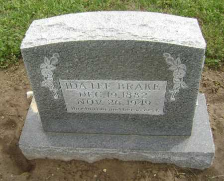 BRAKE, IDA LEE - Lawrence County, Arkansas | IDA LEE BRAKE - Arkansas Gravestone Photos