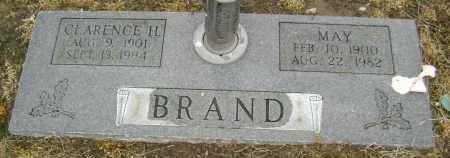 BRAND, CLARENCE H. - Lawrence County, Arkansas | CLARENCE H. BRAND - Arkansas Gravestone Photos