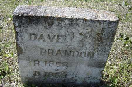 BRANDON, DAVE - Lawrence County, Arkansas | DAVE BRANDON - Arkansas Gravestone Photos