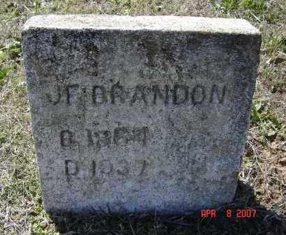 "BRANDON, JOHN FRANK ""J. F."" - Lawrence County, Arkansas 