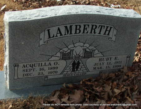 LAMBERTH, RUBY ELIZABETH LAWRENCE BRANDON WILLIAMS RANEY - Lawrence County, Arkansas | RUBY ELIZABETH LAWRENCE BRANDON WILLIAMS RANEY LAMBERTH - Arkansas Gravestone Photos