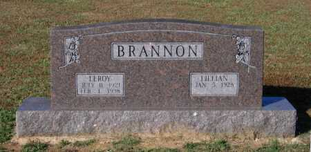 BRANNON, LEROY - Lawrence County, Arkansas | LEROY BRANNON - Arkansas Gravestone Photos
