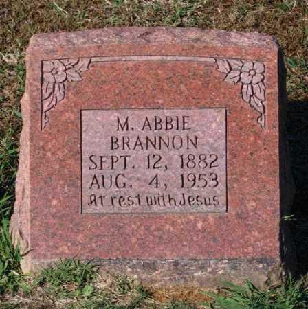 SEGRAVES BRANNON, MARGARET ABBIE - Lawrence County, Arkansas   MARGARET ABBIE SEGRAVES BRANNON - Arkansas Gravestone Photos