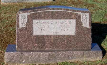 BRANNON, MARVIN WILLIAM - Lawrence County, Arkansas | MARVIN WILLIAM BRANNON - Arkansas Gravestone Photos