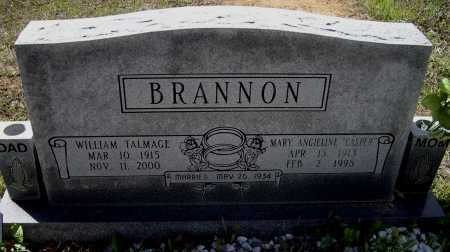 BRANNON, WILLIAM TALMADGE - Lawrence County, Arkansas | WILLIAM TALMADGE BRANNON - Arkansas Gravestone Photos