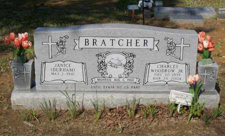 BRATCHER, JR., CHARLES WOODROW - Lawrence County, Arkansas | CHARLES WOODROW BRATCHER, JR. - Arkansas Gravestone Photos