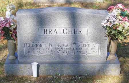 DENT BRATCHER, ALENE VERA - Lawrence County, Arkansas | ALENE VERA DENT BRATCHER - Arkansas Gravestone Photos