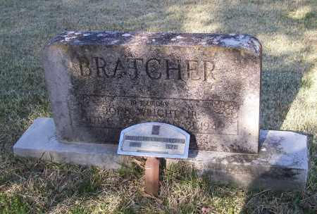 BRATCHER, JR., JOHN WRIGHT - Lawrence County, Arkansas   JOHN WRIGHT BRATCHER, JR. - Arkansas Gravestone Photos