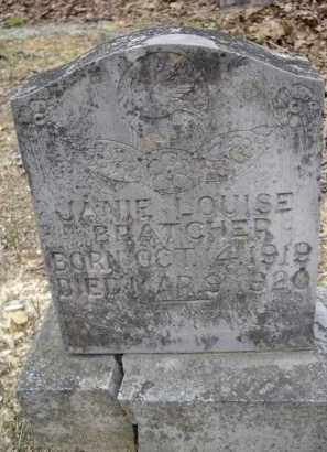 BRATCHER, JANIE LOUISE - Lawrence County, Arkansas | JANIE LOUISE BRATCHER - Arkansas Gravestone Photos