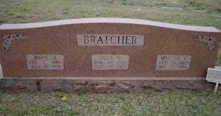 BRATCHER, SIRENA ELLA R. - Lawrence County, Arkansas   SIRENA ELLA R. BRATCHER - Arkansas Gravestone Photos