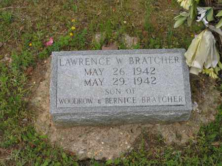 BRATCHER, LAWRENCE W. - Lawrence County, Arkansas | LAWRENCE W. BRATCHER - Arkansas Gravestone Photos