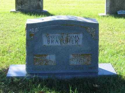 BRATCHER, MARTHA EMMA - Lawrence County, Arkansas | MARTHA EMMA BRATCHER - Arkansas Gravestone Photos