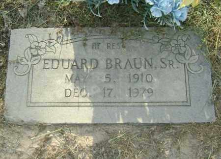 BRAUN, SR, EDUARD - Lawrence County, Arkansas | EDUARD BRAUN, SR - Arkansas Gravestone Photos