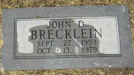 BRECKLEIN, JOHN D. - Lawrence County, Arkansas | JOHN D. BRECKLEIN - Arkansas Gravestone Photos