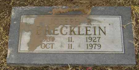 BRECKLEIN, JOSEPH REED - Lawrence County, Arkansas | JOSEPH REED BRECKLEIN - Arkansas Gravestone Photos