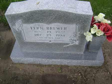 BREWER, FERN - Lawrence County, Arkansas   FERN BREWER - Arkansas Gravestone Photos