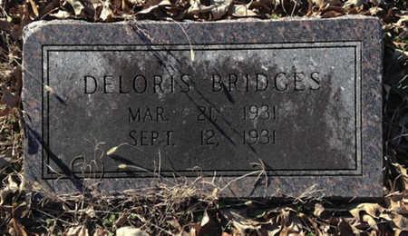 BRIDGES, DELORIS - Lawrence County, Arkansas | DELORIS BRIDGES - Arkansas Gravestone Photos