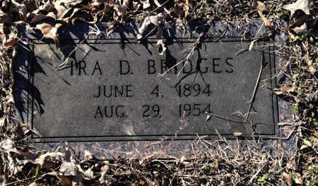 BRIDGES, IRA DATUS - Lawrence County, Arkansas   IRA DATUS BRIDGES - Arkansas Gravestone Photos