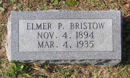 BRISTOW, ELMER - Lawrence County, Arkansas | ELMER BRISTOW - Arkansas Gravestone Photos