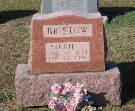 """BRISTOW, MARGARET E. """"MAGGIE"""" - Lawrence County, Arkansas 