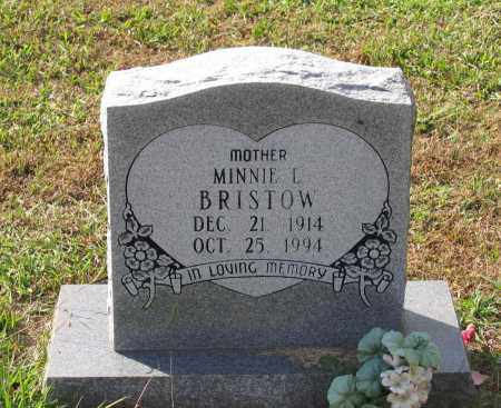 BRISTOW, MINNIE LOUISE - Lawrence County, Arkansas | MINNIE LOUISE BRISTOW - Arkansas Gravestone Photos