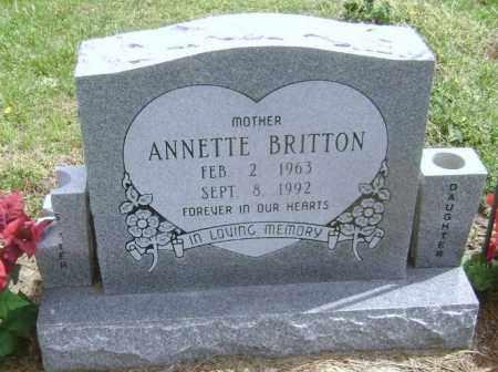 HENDON BRITTON, ANNETTE ELIZABETH BRIDGETT - Lawrence County, Arkansas | ANNETTE ELIZABETH BRIDGETT HENDON BRITTON - Arkansas Gravestone Photos